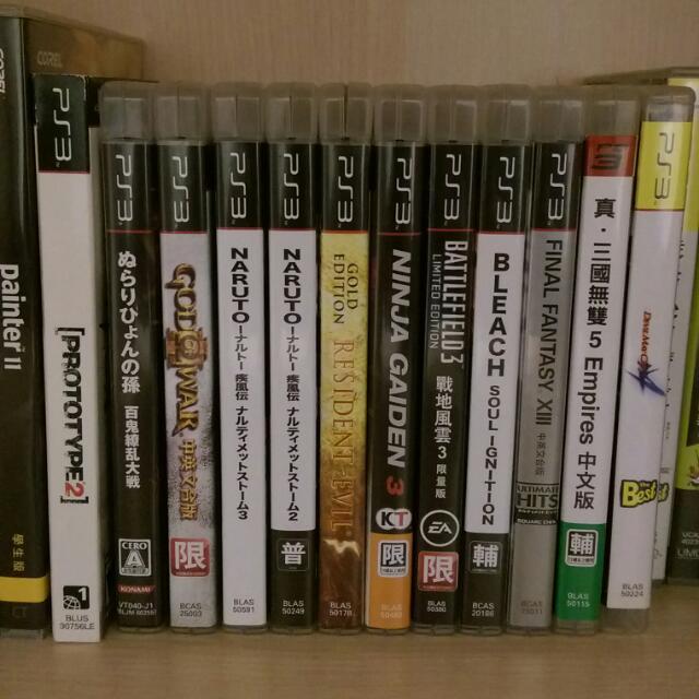 PS3 機台 光碟