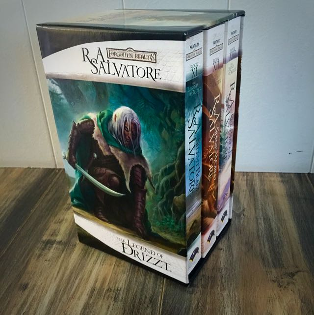 R A SALVATORE - The Legend Of Drizzt Box Set 4 - Like New