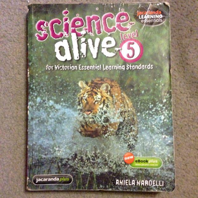Science Alive Lvl5 - Jacaranda 2008