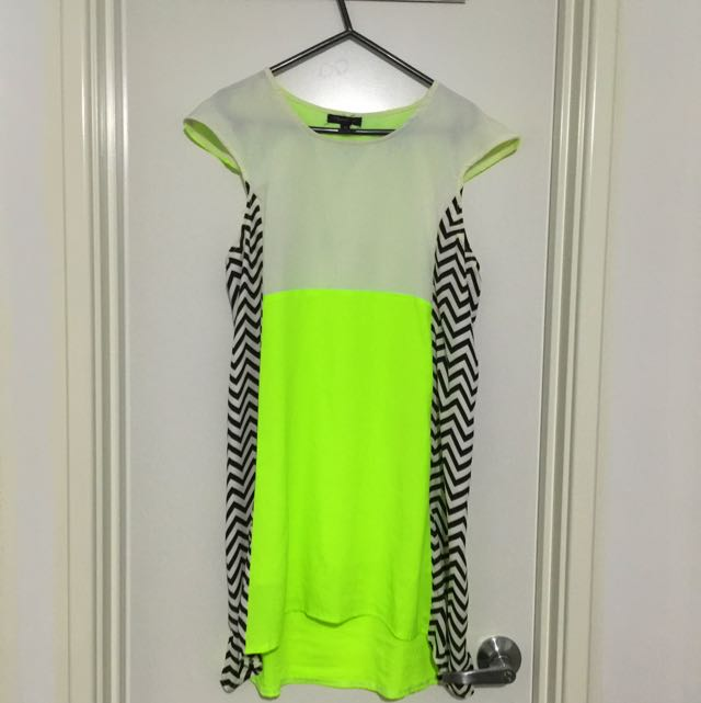 Size 10 Fluro Dress
