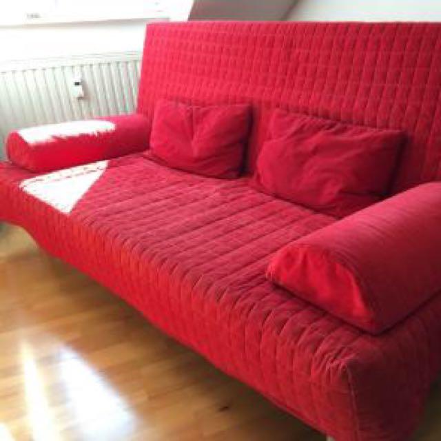 Sofa Bed Ikea Beddinge Lövås Furniture On Carousell