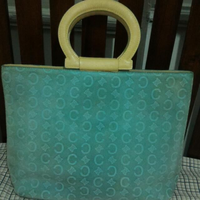 Vintage CELINE suede Bag