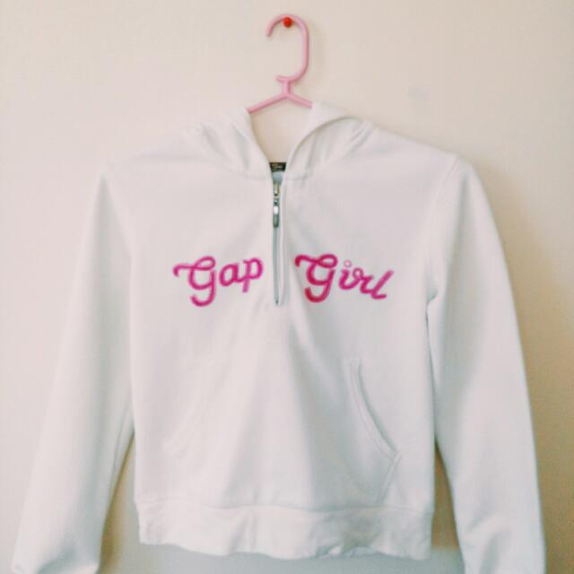 White Gap Girl Jacket
