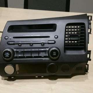 Honda Civic Original Audio System