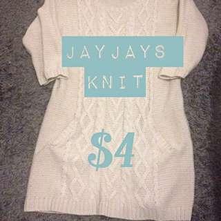 JayJays Knit 3/4 Sleeve