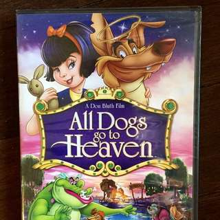 NEW! STILL IN WRAPPING - CHILDHOOD FAVOURITE 'ALL DOGS GO TO HEAVEN'!