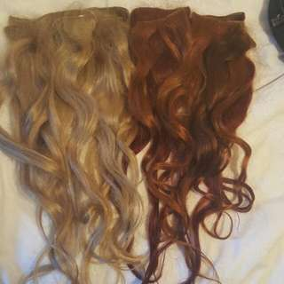 Clip In Human Hair Extentions