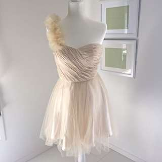 Sydney's Tune Formal Dress - Champagne