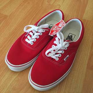 MENS Van Authentic Fiery Red
