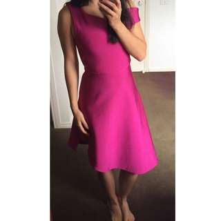 NEW Stretch Pink Formal Dress Sz 6-8
