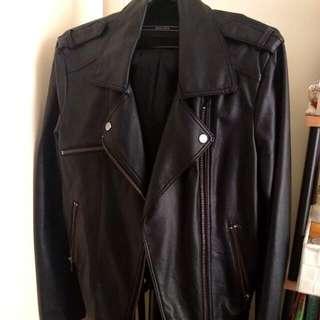 Decjuba Sz 14 Faux Leather Jacket
