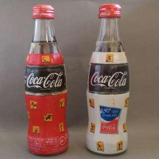 日本可口可樂2004奧運紀念瓶
