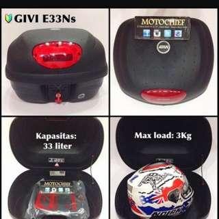 Givi Box E33 With Base Plate