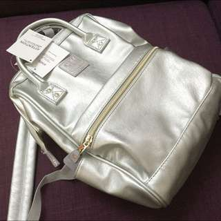 Anello Backpack In Silver