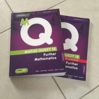 Math quest Further Mathematics Year 12