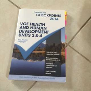 Checkpoints VCE Health And Human Development