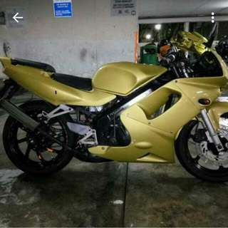 Good As New: Gold Honda NSR 150 SP (Reserved)