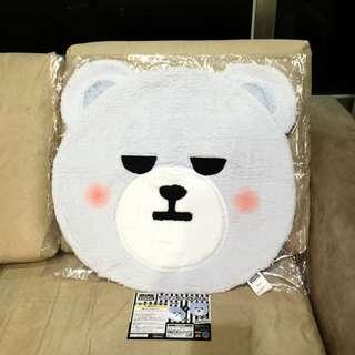 (已售誤下標)KRUNK BIGBANG D-LITE 姜大聲 地墊 沙發墊,現貨一個