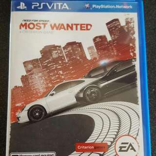 Ps Vita Need For Speed Most Wanted (Reserved)
