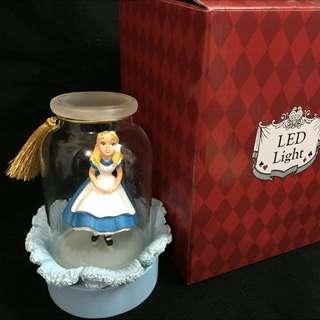 迪士尼 愛麗絲夢遊仙境LED燈 迪士尼樂園限定