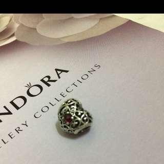 Pandora愛心月份石