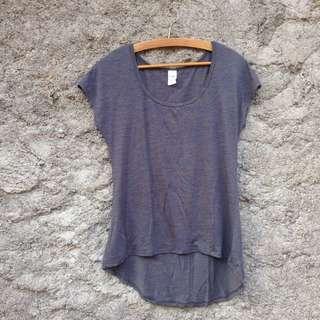 Greyish Blue Top