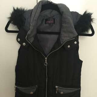 Material Girl Black Vest