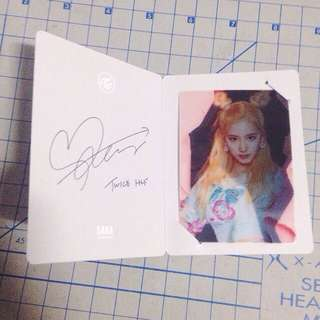 PENDING --- [WTT/WTS] TWICE PAGE TWO SANA LENTICULAR