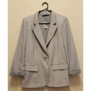 Dotti Casual Blazer in Grey (Size 10)