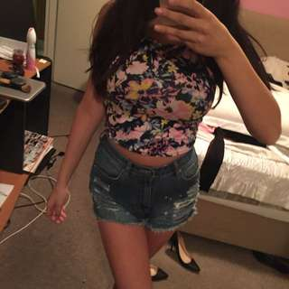 Size Small Crop Top Purchased From Glue