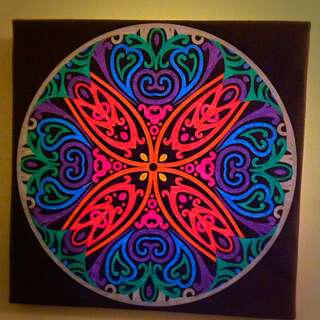 Pattern Drawing On Canvas