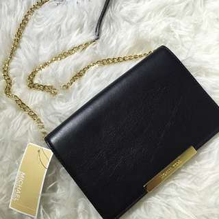 Michael Kors Lana Leather Wallet Clutch