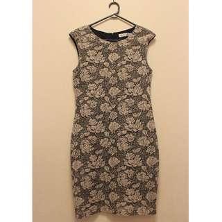 Floral Dress (Size 14)