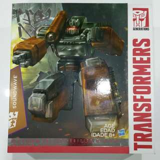 Transformers Masterpiece Year Of The Goat Soundwave