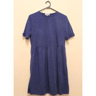 Skater Dress in Blue (Size 14)