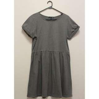 Cotton On Skater Dress in Khaki (Size M)