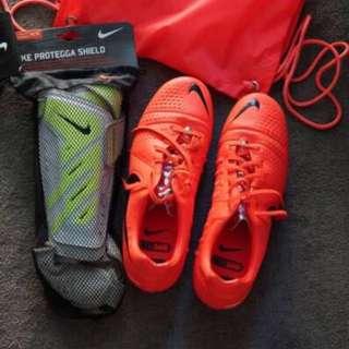 Nike CTR360 & Protegga Shinguard