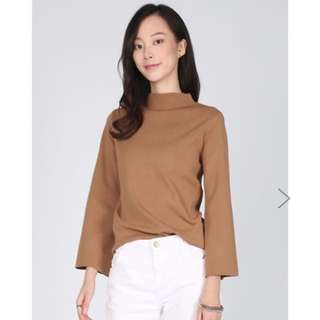 Love Bonito Haniela High Neck Knit Top, XS