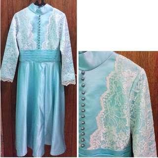 Lace Detailed - Long Dress