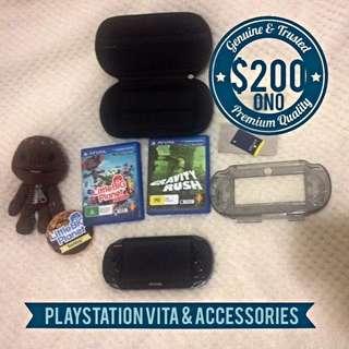 PS Vita Wifi & Accessories