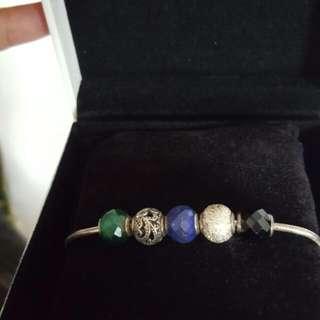 Pandora Essence Champs and Bracelet 17 Cm