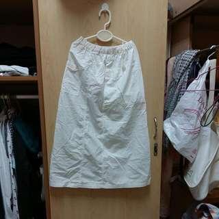 長裙 白色