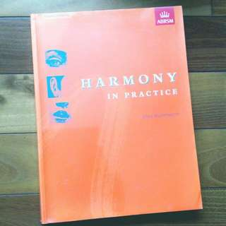 ABRSM Harmony in Practice
