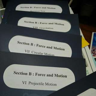 Cw Sham Force & Motion Notes
