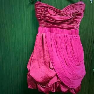 100% Authentic Bebe Bustier Gown Size XXS