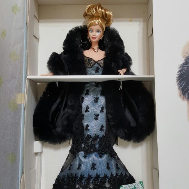 絕版珍藏型限量芭比娃娃