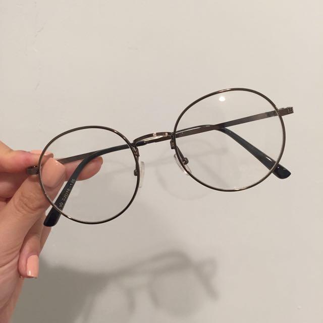 復古圓框眼鏡