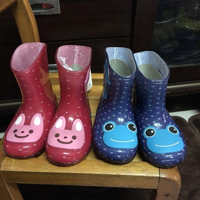 外貿童雨鞋(零碼出清)