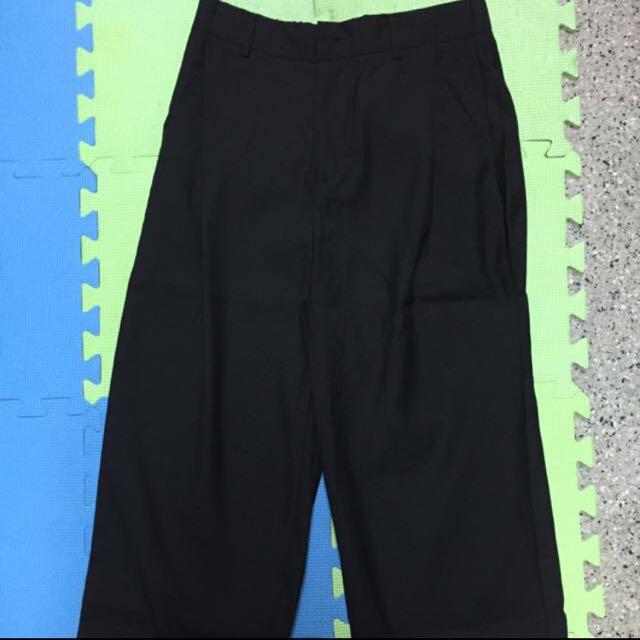七分寬褲(男)