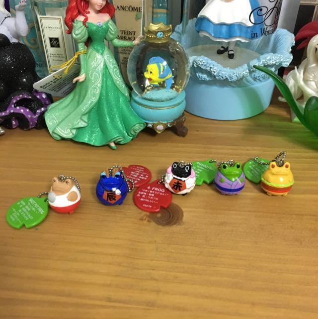日本 蛙 扭蛋
